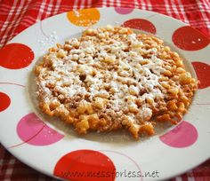 Homemade Funnel Cake #Recipe I tried it and love the taste, first attempt was a failure. Having a thermometer helps! A lot!!