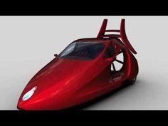 "Switchblade ""flying car"" test vehicle with Suzuki Hayabusa Engine"