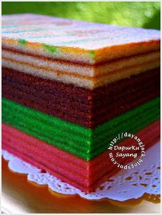 how to - layer cake