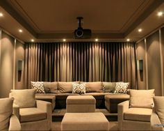idea for curtains in media room just put across entire wall theatre roomshome. Interior Design Ideas. Home Design Ideas