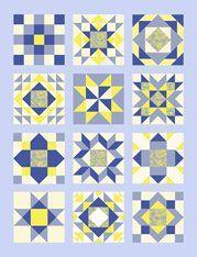 30 Days of Sewing Quilt Blocks - A Sampler Quilt Tutorial (Piece N ... : sampler quilt block patterns - Adamdwight.com