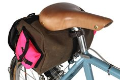 Zeitgeist Touring Saddle Bag from Swift Industries   handmade bicycle panniers and accessories