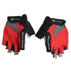 9.14$  Know more  - ROCKBROS Unisex Breathable Half Finger Riding Gloves Road Cycling Gloves Racing Riding Motorcycling Skiing Hiking Outdoor