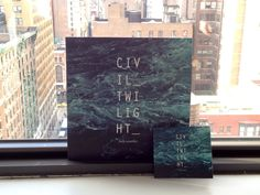 Civil Twilight - Vinyl jacket and CD softpak
