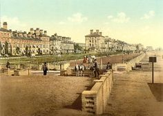 Old Photos of Suffolk: Lowestoft, The Terrace