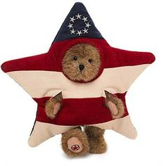 """Boyds Bears beertje in pluche ster """"Glory""""  - Esmi Outlet Store"""