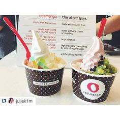 "@redmango's photo: ""Come on down to #RedMango and have a frozen treat today! (Photo Credit: @juliek1m)"""