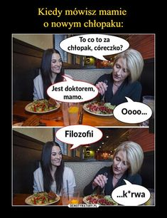 Kiedy mówisz mamie o nowym chłopaku: Asd, Best Memes, Clever, Harry Potter, Jokes, Polish, Disney, Pictures, Best Memes Ever