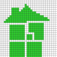 Sburb Homestuck Logo Perler Bead Pattern / Bead Sprite