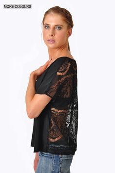 Crave Lace Back Top  Now only R210!!!!!!!!!!!  www.prettyplease.co.za