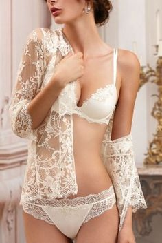 Attention Naughty Brides: How to make your wedding night lingerie extra bridal! - Wedding Party