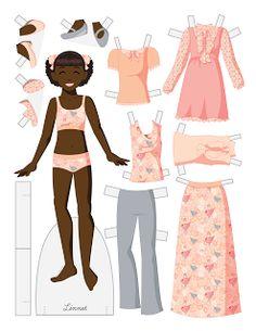 Paper Doll School: Tween Fashion Friiday - Linnet