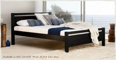 Cambridge Bed. http://www.getlaidbeds.co.uk/wooden-beds/standard-height-beds/Cambridge-wooden-bed-frame The Cambridge Bed frame is of a sophisticated yet modern appearance.  The small design detail of the foot and headboards helps distinguish this bed frame.  The contemporary feel will enhance any modern bedroom and complement its surroundings.