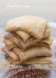 Elephant ear bread / (Cinnamon and Sugar Pull-Apart Bread) (good link in this one)