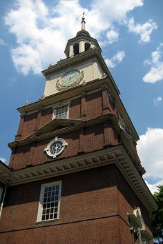 Independence Hall Bell Tower ~ Philadelphia, Pennsylvania