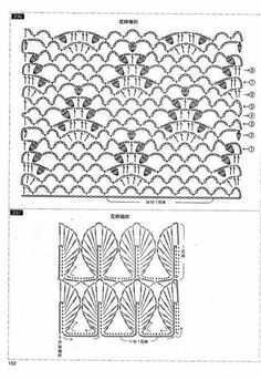 Leaves and pineapples stich