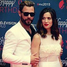 Patrick and Marina at the Monte Carlo TV Festival