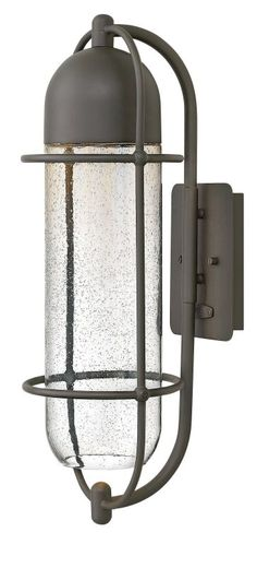 Hinkley Lighting 2384 1 Light Outdoor Wall Sconce From the Perry Collection Oil Rubbed Bronze Outdoor Lighting Wall Sconces Outdoor Wall Sconces