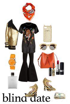 """Hopefully prepared"" by crimsonboudoir ❤ liked on Polyvore featuring Gucci, Acne Studios, E L L E R Y, STELLA McCARTNEY, Lodis, Longchamp, Crayo, Hermès, Kate Spade and Christian Dior"