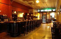 Cena Restaurant and Bar, 125 East College Ave, Appleton, Wisconsin 54911 - Poutine, Scotch Egg, Mediterranean Nachos