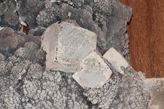 Pale Amethist with Calcite cover with Mordenite. From Ametista do Sul, Rio Grande do Sul, Brazil 25,0 cm X 15 cm X 30 cm (Author: silvio steinhaus)