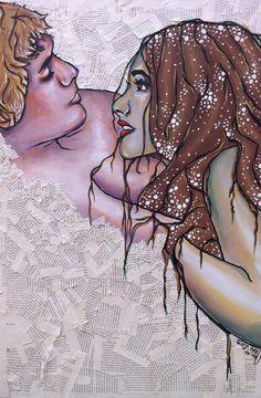 Pirates by Melissa Sue Serrano  #art #couple #multimedia #melissasueserrano