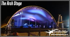 Light check on the Arch Stage Arch, Stage, Events, Concert, Check, Longbow, Concerts, Wedding Arches, Bow