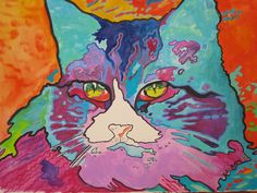 Robin Avery Art Gallery--I know, it's kind of silly, but I like her Peter Max cat.