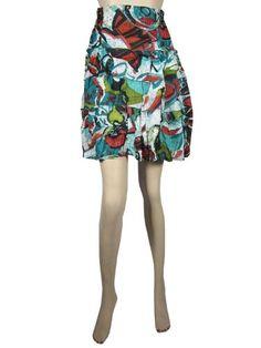 Women Skirts Mini Skirt Tiered Printed Bohemian Short Cotton Skirt Mogul Interior,http://www.amazon.com/dp/B00C6SO186/ref=cm_sw_r_pi_dp_7Whmsb1E4ZV7E15D