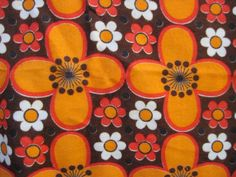 vintage synthetic curtain fabric