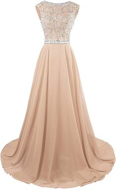 New VIVEYO Prom Dress Beaded Sequins Sleeveless Long Party Gown Evening Formal Dresses online - Topratedseller Blue Evening Dresses, Ball Gowns Evening, Ball Gowns Prom, Prom Dresses Blue, Sweet 16 Dresses, Pretty Dresses, Long Party Gowns, Formal Dresses Online, Short Bridesmaid Dresses