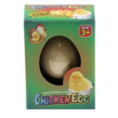 Hatch-em Grow Your Own Pet Chicken - Cracking Chick Egg Novelty Easter Toy Egg Toys, Toys Uk, Hatching Chickens, Pet Chickens, Banana Toy, Crayola Chalk, Easter Toys, Sprinkle Cookies