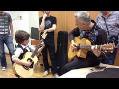 "fan Frano Živković & Tommy Emmanuel perform ""Halfway Home"" Guitar Tips, Guitar Lessons, Tommy Emmanuel, Street Musician, Guitar Tutorial, Guitar Scales, 8 Year Olds, Playing Guitar, 20 Years"