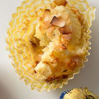 Lemon-Coconut Muffins-goes with Basic Muffin Batter, Rachel Ray