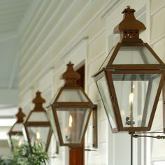 The Original Charleston Lantern — Carolina Lanterns — Gas Lanterns & Chandeliers