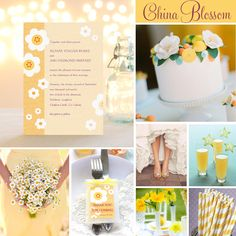 Wedding Inspiration: China Blossom | Evermine Blog | www.evermine.com