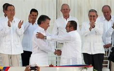 Colombia, FARC sign historic peace deal ending long conflict