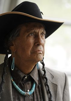 Russell Means - Vietnam Vet, AIM activist, Sioux chief, actor, Indigenous man