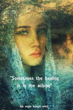 This is most generally true. We cannot heal it, until, at first we feel it. Love and light, Rev. Sandra Rodgers