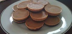 Home made Reeses Cups - no refined sugar, lactose free, gluten free