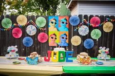 Jude's Pop Art Birthday Party! #lookieboo