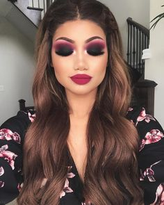 "60.1k Likes, 398 Comments - ALINA (@makeupbyalinna) on Instagram: ""Black smokey eye - Spring editon   Eyes: ""Bueno fresco"" and ""love letter"" from…"""