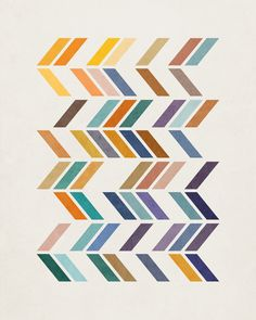 Geometric 2 Art Print