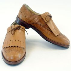 New Walter Genuin Men's Andros Golf Shoes Sz 11 M Brown #860 Reg $510