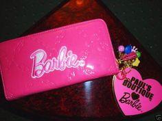 Pink Barbie Wallet, I'd kill for it
