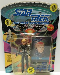(TAS033538) - 1993 Playmates Star Trek The Next Generation Commander Sela
