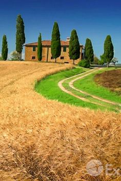 Siena Toscana, Landscape Photography, Nature Photography, Farm Village, Living In Italy, Tuscany Italy, Color Of Life, Amazing Nature, Beautiful Gardens