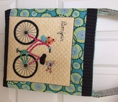 My Bonjour Bicycle Bag is a cross body bag great for when you are out shopping and riding your bike!
