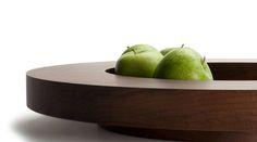 Tulip wooden bowl by Belgian architect Vincent van Duysen for When Objects Work.