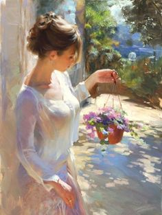 New Flowers by Vladimir Volegov